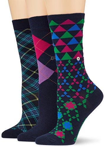 Burlington Damen Socken Ladies Gift Pack, Mehrfarbig (Sortiment 0020), 36/41
