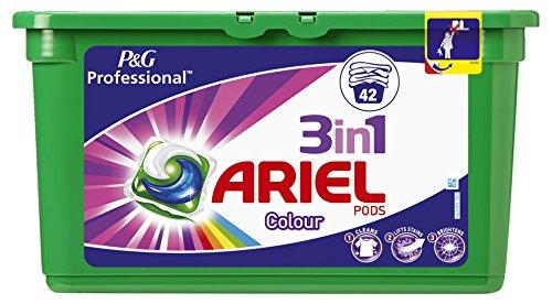 Ariel 3in1 PODs Colorwaschmittel, 2er Value Pack ( 2 x 42Waschladungen )