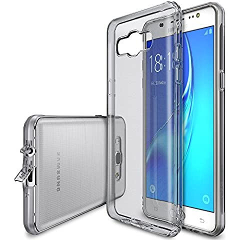 Funda Galaxy J5 2016, Ringke [AIR] Funda Choque Absorción Claro Flexible TPU Suave Gel [resistente a arañazos & Protección gota] Funda para Samsung Galaxy J5 2016 - Smoke Black