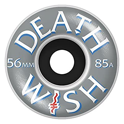 DEATHWISH Wheels CROOKED Cruiser / Set, white / 85a 56 mm