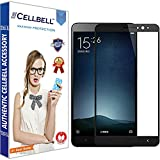 CELLBELL® Tempered Glass Screen Protector For Xiaomi Redmi Note 4 (BLACK) Colour Glass With FREE Installation Kit