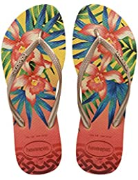 Havaianas HAV. SLIM TROPICAL - Sandalias de goma para mujer