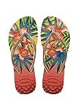 Havaianas Damen Flip Flops Slim Tropical Grösse 43/44 EU ( 41/42 Brazilian) Light Gelb Zehentrenner für Frauen