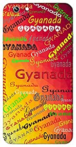 Gyanada (Popular Girl Name) Name & Sign Printed All over customize & Personalized!! Protective back cover for your Smart Phone : Coolpad Note 3 LITE