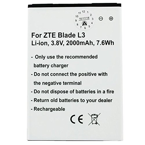 Akku passend für ZTE Blade L3 Akku Li3820T43P3h785439