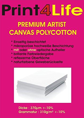 5 fogli di carta formato A4 tela / tela per la creazione di riproduzioni d