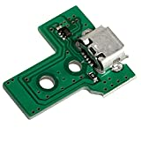 PS4 USB Port, ENDARK Ersatz Zubehör USB Ladeanschluss Socket Board JDS-030 für Playstation 4 PS4 Controller (1pc)