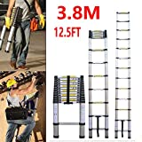 Extension Foldable Telescopic Ladders - High Quality Aluminum Straight Style Climb Telescopic Ladder