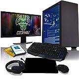 "ADMI Gaming PC Package: AMD Dual Core A6-7400K, 8GB Ram, 1TB HDD, 22"""