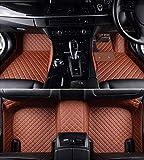 #10: Autofurnish 5D Premium Custom Fitted Car Mats for Honda Jazz 2017 - Tan