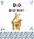 Boofle Dad From Daughter Birthday Greeting Card Cute Range Greetings Cards