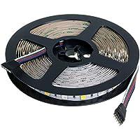 AFISC - 5M RGBW Striscia Luci LED Bianco Caldo 12V