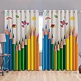 #7: Homecrust 3D curtain elegant curtain pencils - 2 pcs