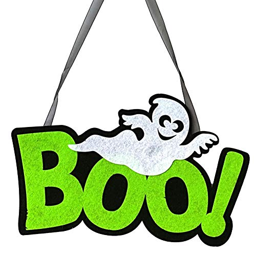 Nrkin Halloween Hanging Pendant Türdekorationen und Wandschilder Indoor und Outdoor Party Supplies für das Home Office Haunted House