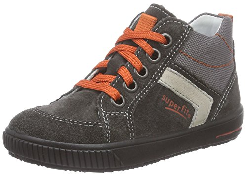 Superfit MOPPY, Sneaker per neonati Unisex - bambino Grigio (Grau (LAVAGNA KOMBI 47))