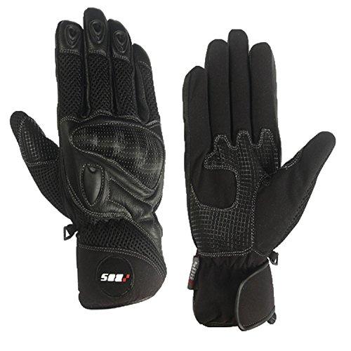 Motorradhandschuhe Sommer schwarz XL