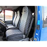 Fundas de asiento schonbezüge Fundas Renault Trafic 2002–2012Negro