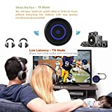 Golvery-Bluetooth-Transmitter-and-Receiver-Advanced-Bluetooth-V41-A2DP-2-in-1-Wireless-Bluetooth-Audio-Adapter-with-35-mm-Jack--aptX-Low-Latency-Enabled-Enjoy-HiFi-Stereo-Music-Streaming-for-TV-Headph