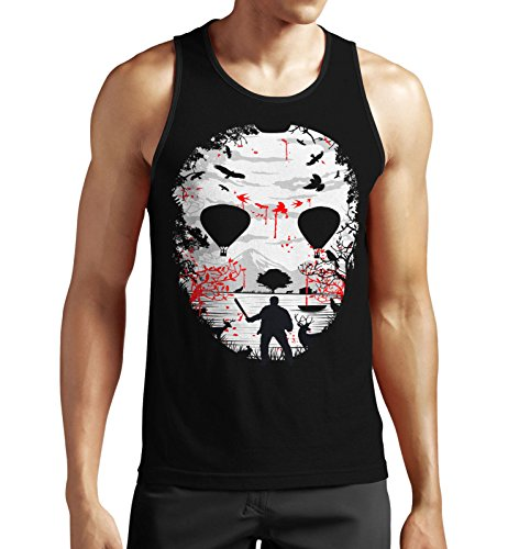 Crystal Lake Tank Top Schwarz