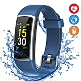 moreFit Fitness Tracker, Waterproof Activity Tracker Smart Watch with Heart Rate Blood Pressure