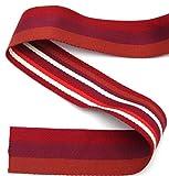 Stephanoise Gurtband, Streifen, Polyester, 40mm breit, für