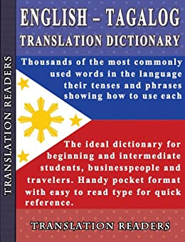 English - Tagalog Translation Dictionary and Phrasebook (English Edition) par [Readers, Translation]
