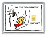 "1g Goldbarren 999,9 Feingehalt in einer Kapsel mit Motivbox ""Goldene G"