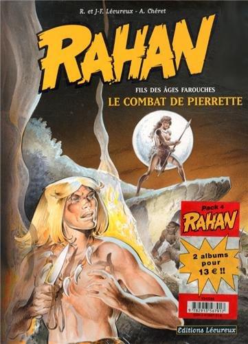 Rahan : Pack 2 volumes : Tome 7, Le combat de Pierrette ; Tome 8, Le trésor de Bélesta