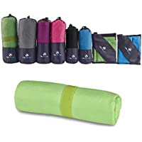 Toalla de microfibra - Toalla Secado Rápido para Natación, Piscina, Viaje, Camping, Deporte, Gimnasio, Yoga, Pilates de MountFlow