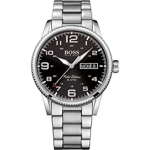 Hugo Boss Herren Pilot Edition Analog Kleid Quarz-Uhr (Importiert) 1513327von Hugo Boss
