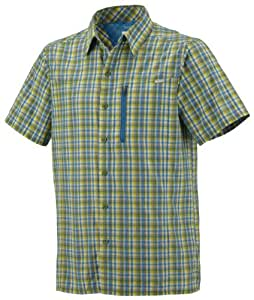 Columbia Men's Silver Ridge Plaid Short Sleeve Shirt - Palm, X-Large