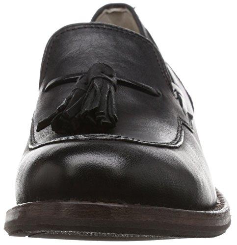 Clarks Damen Tomina Bay Slipper Schwarz (Black Leather)