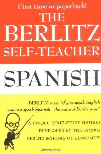 The Berlitz Self-Teacher: Spanish