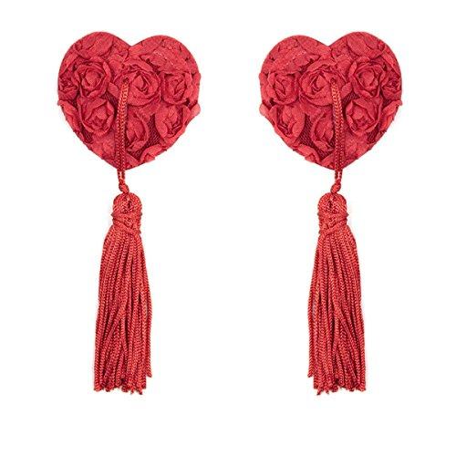 omos-donna-nipplo-sexy-donna-cache-tetons-paillette-e-nipple-cover-sequin-tassel-copricapezzoli-ross