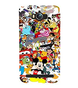 EPICCASE Gang of Toons Mobile Back Case Cover For Asus Zenfone Max (Designer Case)