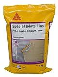 SikaCeram Joint Fin - Mortier pour joint de carrelage prêt à gâcher intérieur / extérieur - 4kg - manhattan