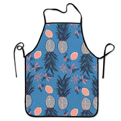 e Küchenchef-Schutzblech-Ananas, Handelsmänner u. Frauen-Schutzblech für das Kochen, Backen, in Handarbeit Machen, im Garten Arbeiten, BBQ ()