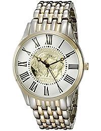 August Steiner CN009TTG Reloj de cuarzo con esfera analógica de dos tonos, para hombre