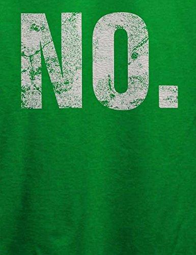 No Vintage T-Shirt Grün