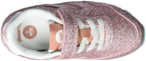 Hummel Reflex Princess Jr, Sneakers Basses Fille Rose (Rose Dawn)