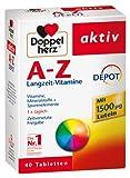 Doppelherz A-Z Depot Tabletten, 4er Pack (4 x 40 Kapseln)