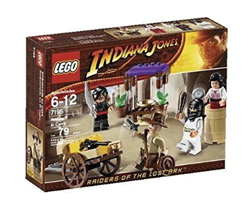 Lego Indiana Jones 7195 Raiders of the Lost Ark: Ambush in Cairo