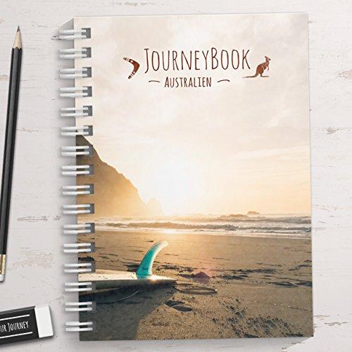 Reisetagebuch Australien zum selberschreiben/als Abschiedsgeschenk