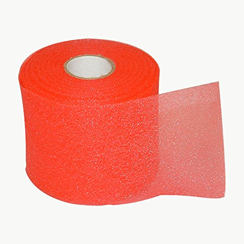 Espuma de Jaybird & Mais 50 Underwrap/pre-wrap Rojo Red (2.75 In. X 30 Yds.) Talla:2-3/4 In. X 30 Yds.