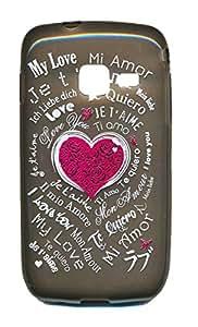 Housse Coque Gel Amour pour Samsung S5380 Wave Y Syl'la