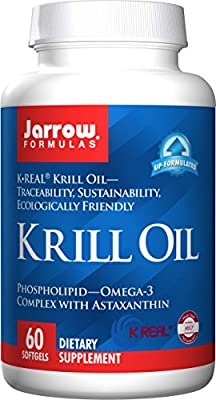 Jarrow Krill Oil (400mg Omega 3 Complex, 60 Softgels) by Jarrow FORMULAS