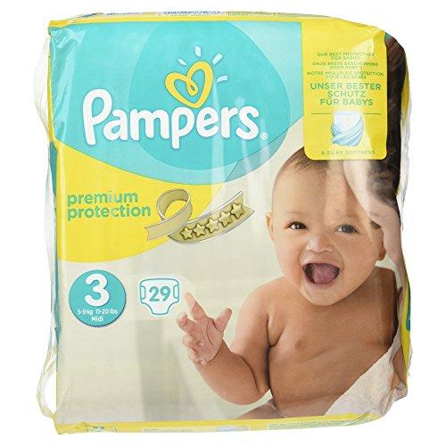Preisvergleich Produktbild Pampers Premium Protection Größe 3, 29 Windeln