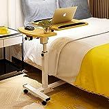 Hongyan C-Typ-Laptop-Fach kann angehoben Werden Rad Halterung Laptop Schreibtisch Schreibtisch Sofa/Schlafzimmer / Bettwäsche Tisch (Farbe : 3#)