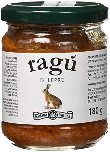 Italiana Natura Ragù di Lepre - 6 Confezioni da 180 G