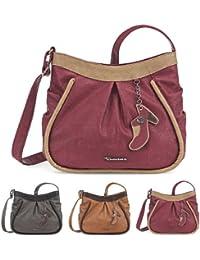 51a05d8aa6ff00 TAMARIS ALEX Handtasche, Umhängetasche, Schuh-Anhänger, 3 Farben: graphite  grau,